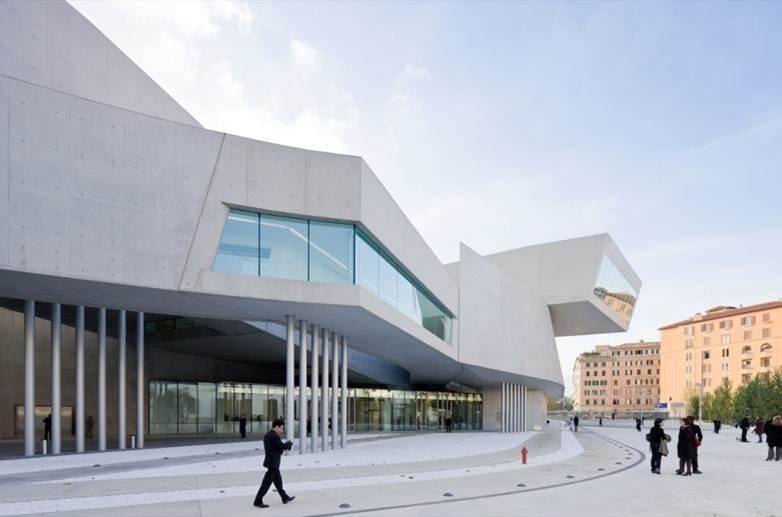 دانلود پاورپوینت موزه ماکسی اثر زاها حدید